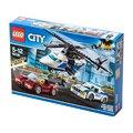 LEGO City 60138 конструктор игрушка совместимая Legoing 3 в 1 полицейский вертолет спортивный автомобиль развивающий креативный подарок для детей