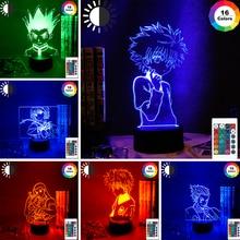Lamp Decoration-Light Nightlight Color-Changing 3d Anime KILLUA Hunter-X-Hunter Gift