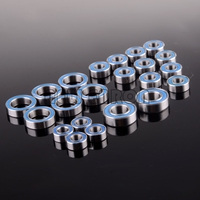 NEW ENRON 볼 베어링 세트 (22PCS) RC 카 축 방향 AX10 SCX10 Dingo Honcho 52100 Chrome Steel|부품 & 액세서리|   -