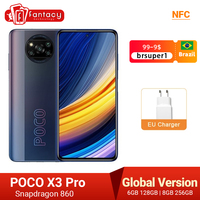 In Stock Global Version POCO X3 Pro Smartphone NFC 33W Charge Mobile Phone Snapdragon 860 48MP Quad Camera 6.67 1