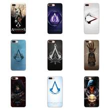 Top Caso de Telefone Para Apple iPhone 4 4S 5 Detalhada 5C 5S SE 6 6S 7 8 Plus X XS Max XR 2019 Pedindo Alexandris Crânio Assassins Creed(China)