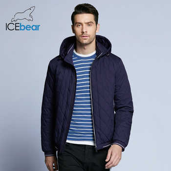 ICEbear 2019 new autumn men's cotton classic quilted design coats hat detachable fashion man jacket BMWC18032D - Category 🛒 All Category