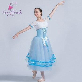 Giselle Ballet Tutu Girl & Women Stage Performance Ballet Costumes Romantic Long Ballet Tutu, Dance Cosutme ballet wear фото