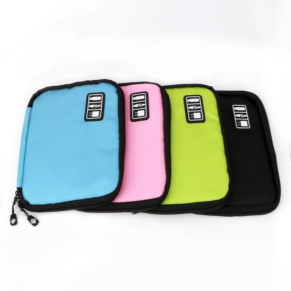 NICEYARD 25*18cm Durable Portable Digital Gadget Storage Bag Tools Packaging Devices USB Cable Earphone Organizer Tool Bag