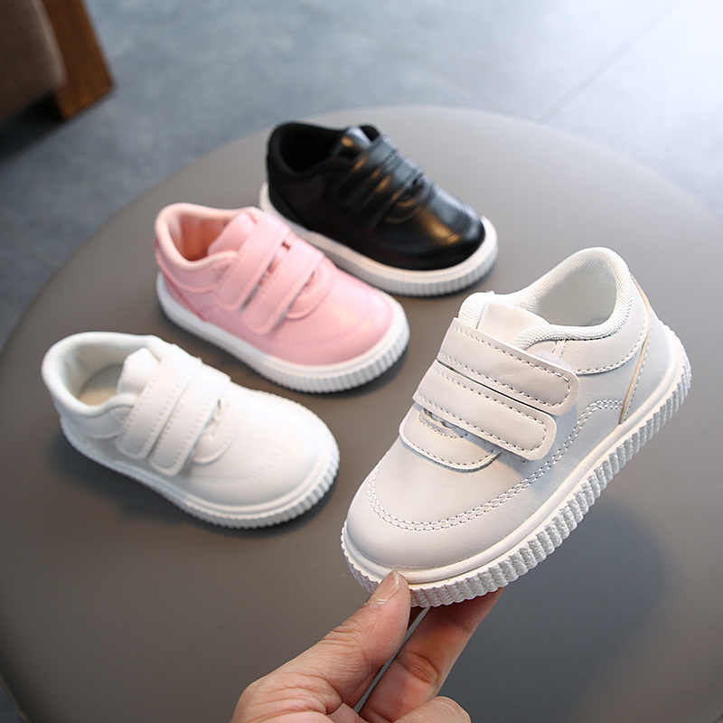 Comfy kids sneakers white shoes for