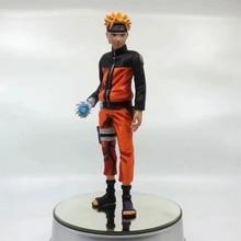 Anime Naruto Uzumaki Naruto Rasengan Comic Ver PVC Action Figure Collectible Model doll toy 25cm pvc cartoon comic doll