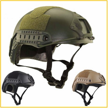 купить High Quality Protective Paintball Wargame Helmet Army Airsoft MH Tactical FAST Helmet with Protective Goggle Lightweight дешево