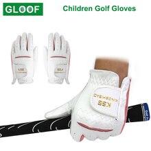 1 пара детские перчатки для гольфа дышащие тканевые спортивные