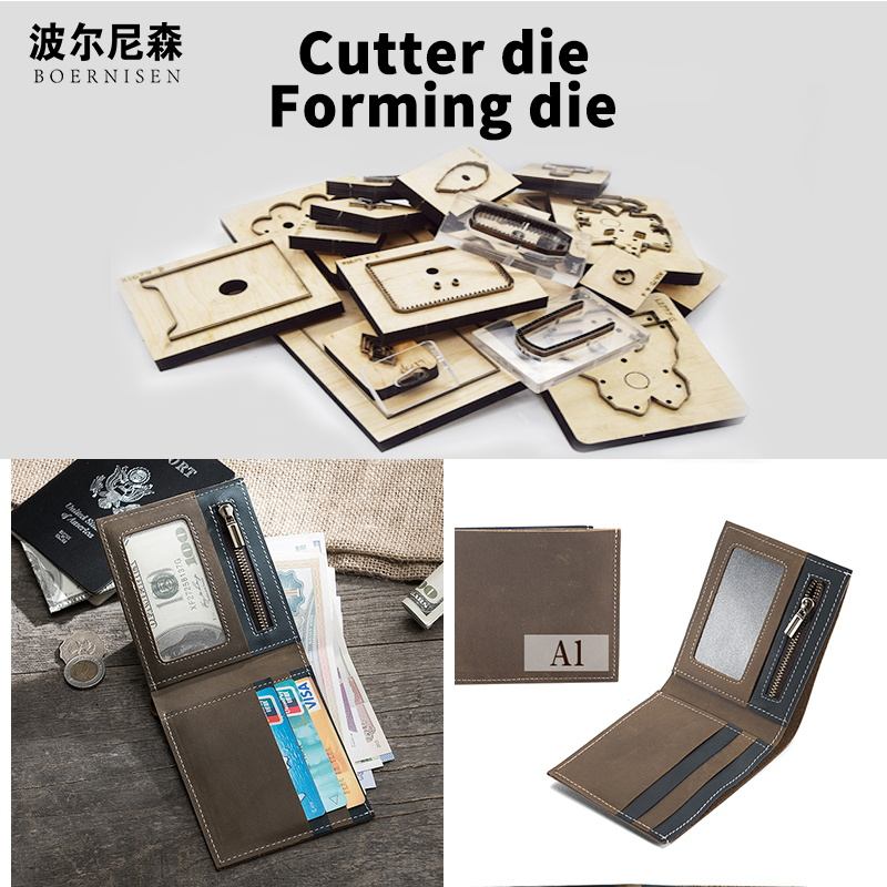 Wood Die Cutting 2020 DIY Fashion Jewelry Card Bag Steel Mold Cutting Mold Wood Dies Card Package Knife Mold  mold  for Card pac