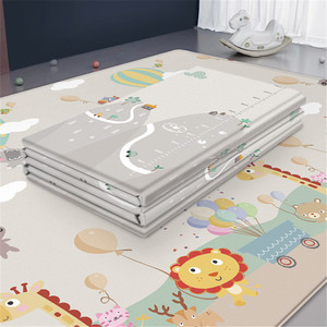 Waterproof Baby Play Mat Baby Room Decor Home Foldable Child Crawling Mat Double-sided Kids Rug Foam Carpet Game Playmat(China)
