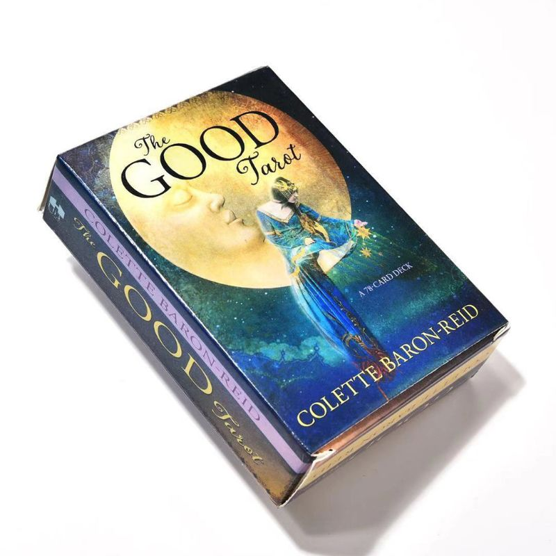 The Good Tarot 78 Card Deck Full English Tarot Guidance Fate Divination Prophecy Board Game Playing Card for Family Party 4