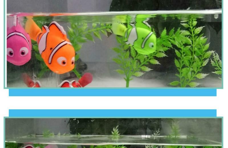 natação eletrônico animais de estimação peixes brinquedos
