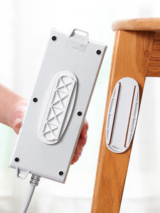 Board-Holder Bottom-Board Router Plug-In-Board Perforation-Install Wall-Mounted Home-Free