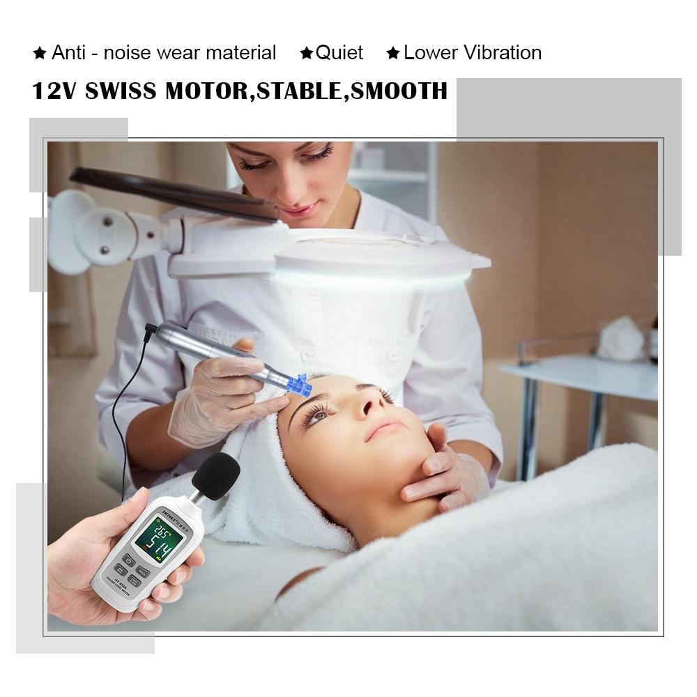Цифровая тату машинка biomaser для перманентного макияжа 12/36