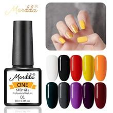MORDDA УФ-гель для ногтей для маникюрных инструментов Цвета одношаговый гель для дизайна ногтей, лак для ногтей, гель эмаль для DIY живопись