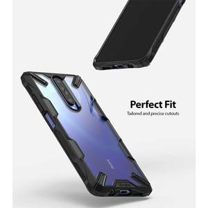 Image 4 - Ringke Fusion X per Xiaomi Redmi K30 Caso Trasparente Dura del PC Della Copertura Posteriore Molle di TPU Frame per Xiaomi Poco X2