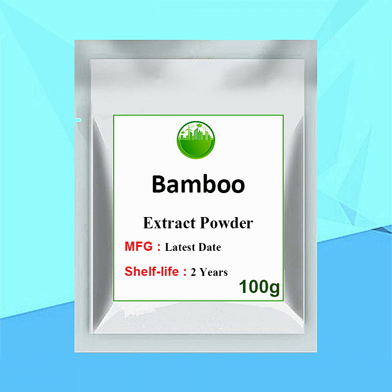 Bamboo Silica/Leaf Extract Powder Silica Supports Healthy Skin Nails Hair Joints and Bones