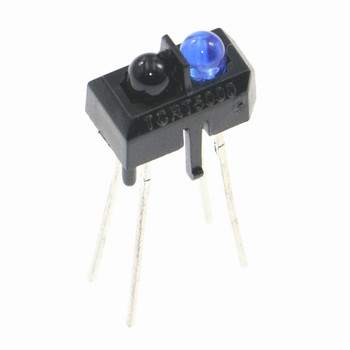 10 sztuk TCRT5000 TCRT5000L na podczerwień dioda LED na podczerwień przełącznik z czujnikiem światła lampy Micro podczerwień fototranzystor DIY PCB obwodu