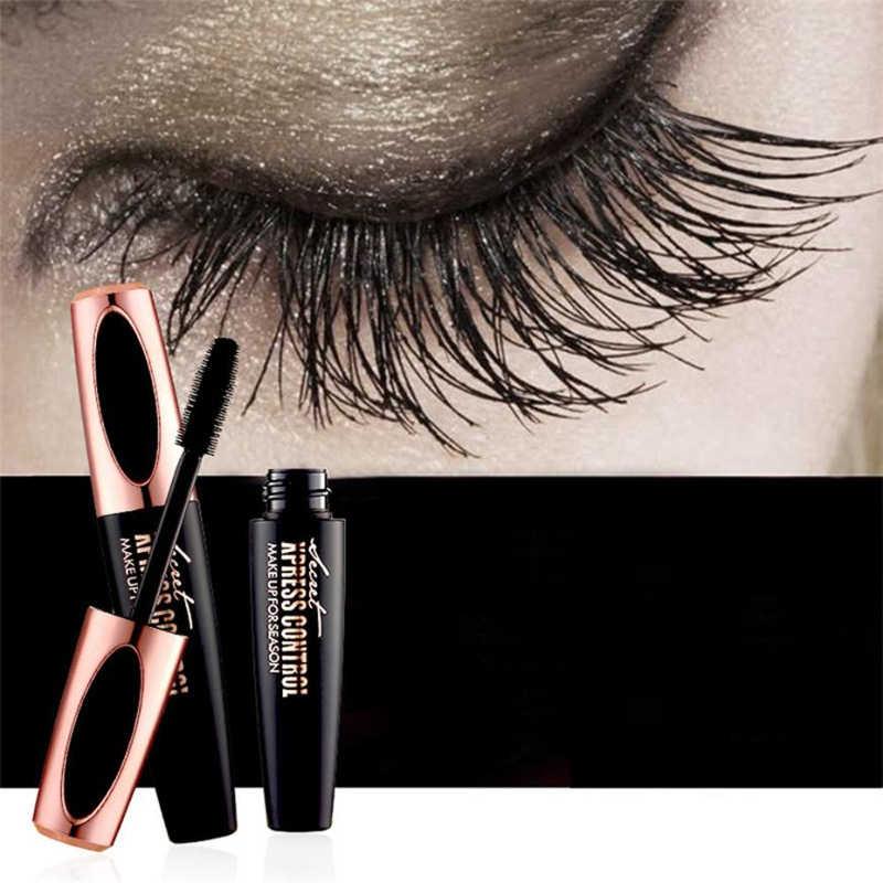 4D Tơ Gân Eyelashe Trang Điểm Silicon Chống Thấm Nước Đầu Bàn Chải Mascara Làm Dài Dày Hơn Mascara Macfee