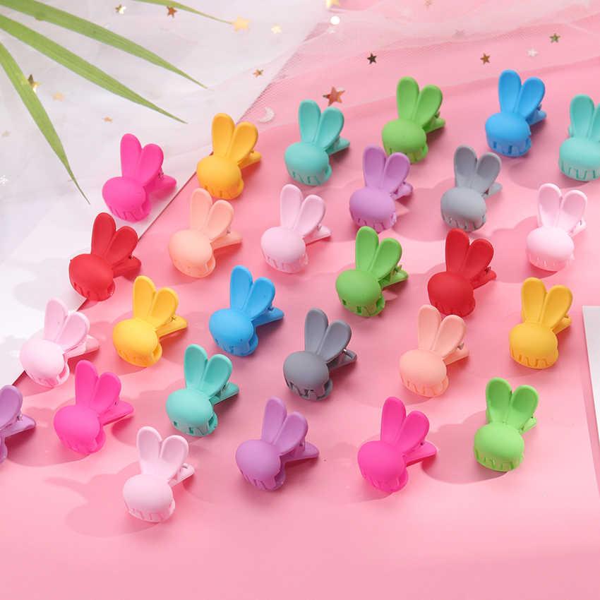 20 Uds. Pinzas para el pelo con Orejas de conejo para niñas, regalos para niños, pinzas para el pelo, accesorios para el cabello a la moda para niños