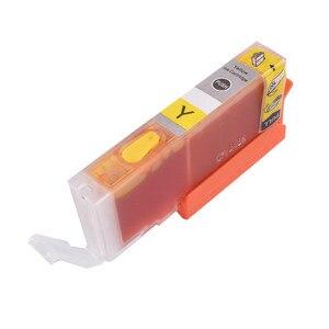 Image 3 - Dolum PGI 580 581 XXL doldurulabilir mürekkep kartuşu kalıcı çip tam canon için mürekkep PIXMA TS705 TS6150 TS6250 TR7550 TR8550 TS9550