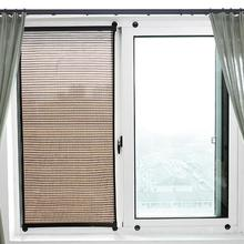 Window Shade For Bedroom Blackout Roller Shade Curtain Breathable Wall-Mounted Sun Block Curtain Removable Drill-free Blackout hse train across the sea roller shade