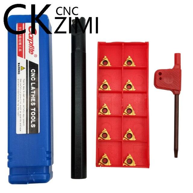 11ER A60 11ER 1//4 A60 Carbide Inserts Lathe CNC Blade Milling Turning SH