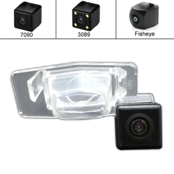 Dla mazda miata Protege MPV uznanie dla Ford Escape mercury mariner Night Vision samochodów rewers Backup kamera cofania HD CCD w Kamery pojazdowe od Samochody i motocykle na