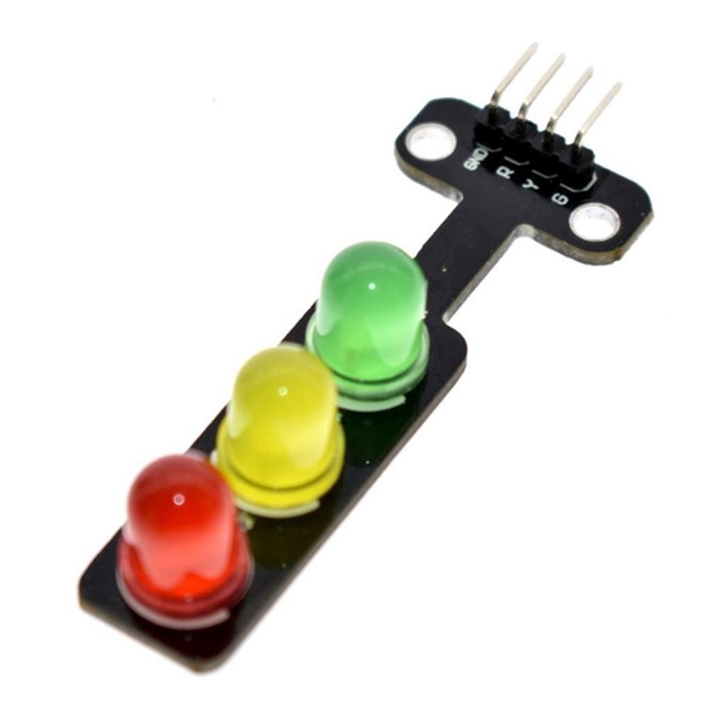 Controle separado da luz comum do brilho 3 da saída do sinal de digitas do módulo 5 v do sinal do diodo emissor de luz