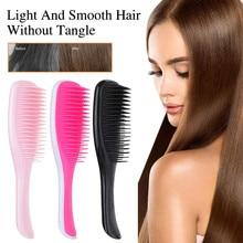 New Hair Brush Straightener Hair Comb Hair Styling Anti-static Massage Combs For Salon Styling Women Girls Hair