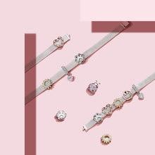 Bamoer, 10 стилей, подлинный 925 пробы, серебряный шарм для браслетов reflexions, сделай сам, ювелирные аксессуары, подарки для девочек