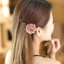 Элегантные женские красивые сапоги с цветочными мотивами боковой