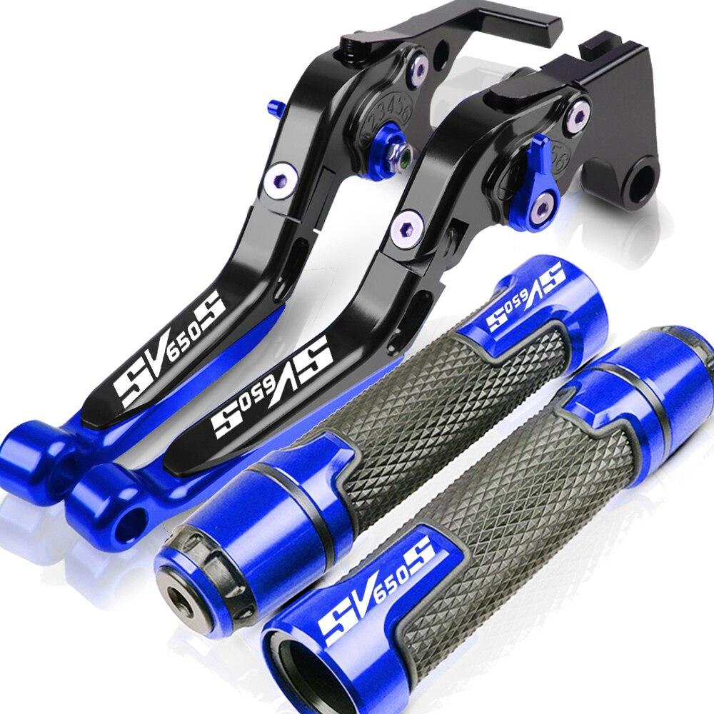 Мотоциклетные рычаги тормозной муфты SV650S 1999-2012, рулевые рукоятки для SUZUKI SV 650 S 2000 2001 2002 2003 2004 2005 2006 2007
