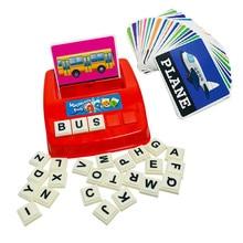 Letter Alfabet Early-Learning Educatief Kaarten Speelgoed Spelling Kinderen Engels Fun