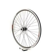 Велосипед Cruiser Tour 700C, комплект колес 36h, алюминиевый корпус, двойной обод, передний диск колеса и V-тормоз, задние колеса, кассета и вкручиваем...