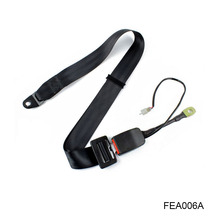 Car Satefy Seat Belt Manufacturer Two Point Static Seat belt With Stalk Buckle Switch FEA006A