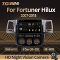 Автомагнитола TIEBRO 2Din Android 9,0 для Toyota Fortuner Hilux 2007 2008 2012 2014 2015 Мультимедиа Видео Gps Навигация DVD