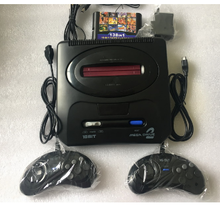 Console de jeu vidéo SEGA MD 2 16 bits, cartouche de jeu classique originale en option 138 en 1,196 en 1