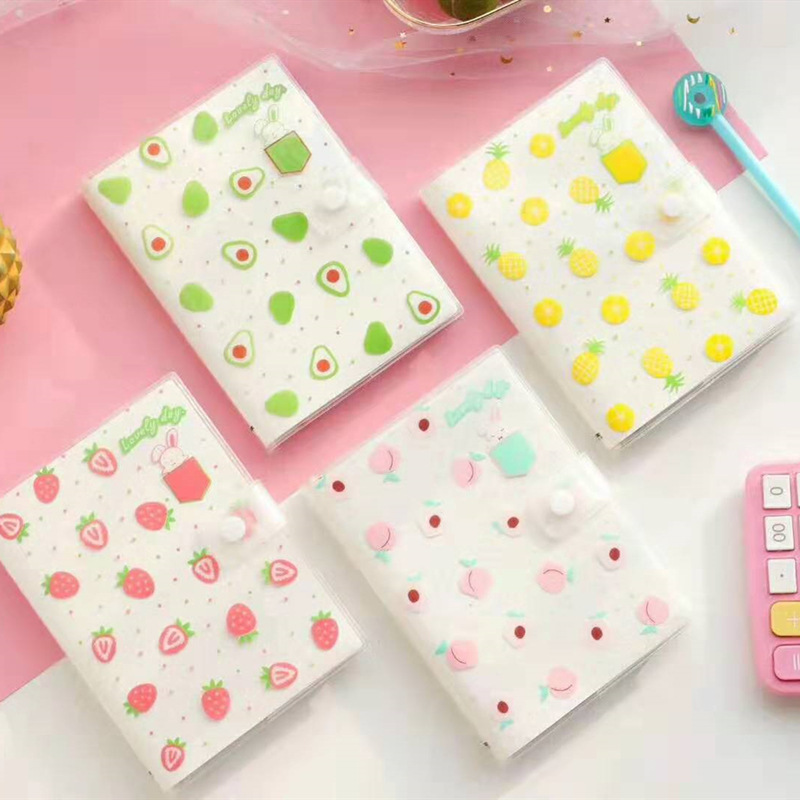 Fruit House Series Avocado Cover Planner Notebook Diary Book Exercise Bullet Journal Notepad Gift Stationery