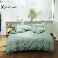 Classic Cotton Bedding Set Fancy Embroidery Preshrink Home Textile Comforter Cover Flat / Fitted Sheet King Queen Twin Full Size