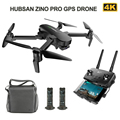 Hubsan Quadcopter ZINO PRO GPS 5G WiFi 4KM FPV Con 4K UHD Macchina Fotografica 3 Assi del Giunto Cardanico sfera Panorami RC Drone Quadcopter RT