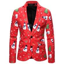 Litthing новейший Рождественский костюм для мужчин Slim Fit модное пальто костюмы для выпускного вечера с курткой и брюками для мужчин