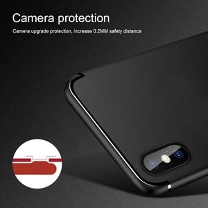 Matte Ultra dünne Fall Für iphone 11 Pro Max X XR 10 XS Max 7 8 6 S 6 S 5 5S 5SE Weichen Silikon Telefon Einfache Feste Farbe Zurück Abdeckung