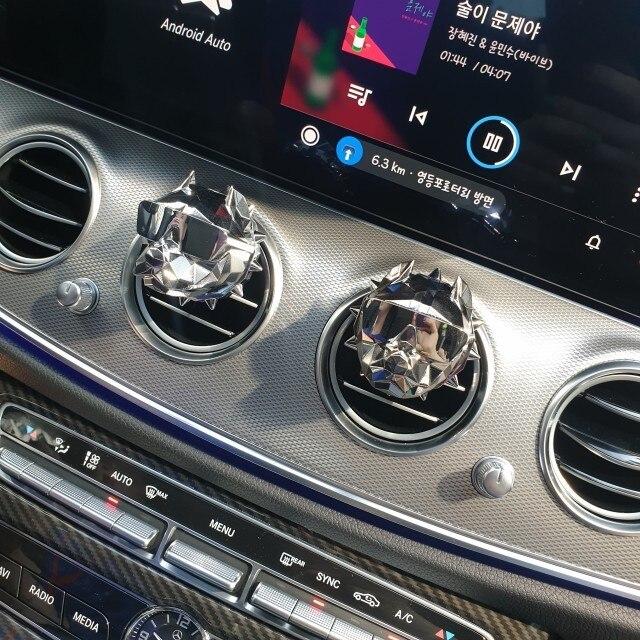 Bulldog car air freshener car perf