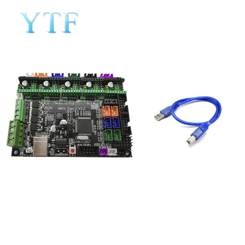 3D Printer System Board MKS Gen-L V2.0 Cost Compatible Ramps Open Marlin