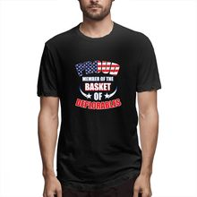 2019 Mens Short Sleeve T-shirt 3D Print t shirt Proud Member Of The Basket Deplorables Cotton Funny homme Top Tees
