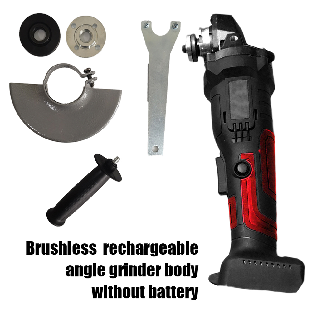 100mm 18V Brushless Wireless Impact Angle Grinder Head Tools For Makita 18VDC Utensili Elettrici Makita ( Without Battery)