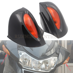 Side Rear mirrors Rearview W/ Amber Lens Fits For BMW R1100RT R1150RT R1100 RT R1150 RT(China)