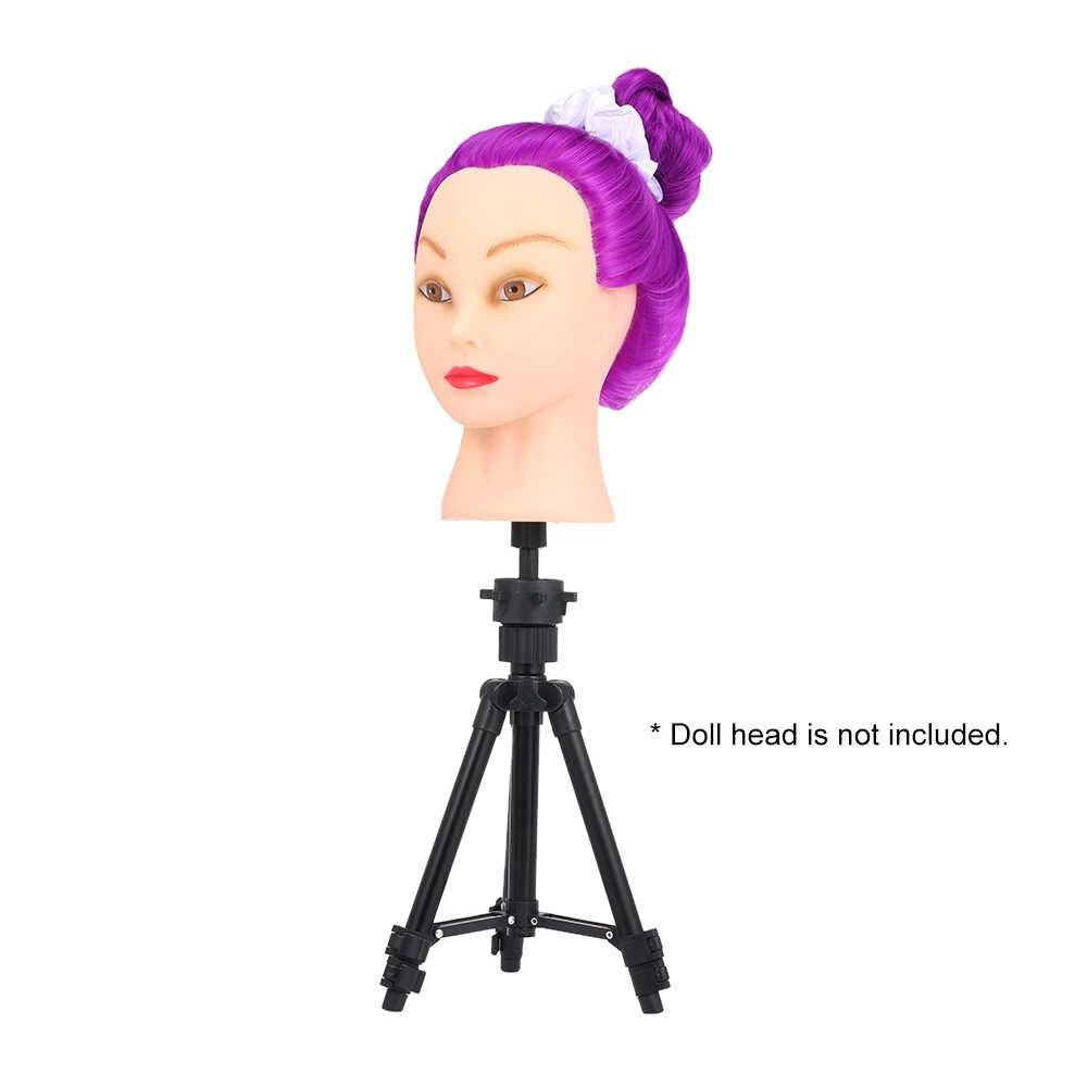 Мини-штатив для парика и головы металлическая Регулируемая косметологическая Парикмахерская учебная манекен головной парик подставка для парика