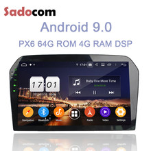 "10.1"" DSP PX6 Android 9.0 4GB RAM 8 Core 64 GB ROM Car multimedia Player GPS RDS autoradio Bluetooth 4.2 For VW Jetta 2012-2015(China)"